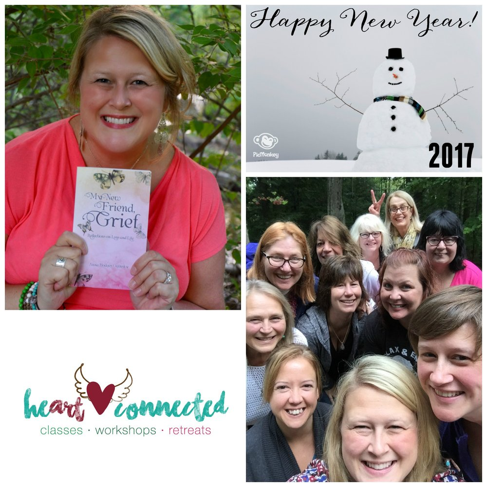 The Heart Connected highlights of 2016 include publishing my first book and the Heart Connected Retreat. I am so grateful to the courageous souls alongside me on this journey.