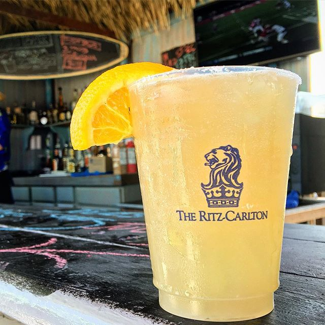 When in Rome....or in this case, Amelia Island #ritzcarlton #ameliaisland #beach #relax #drinking #florida #friends