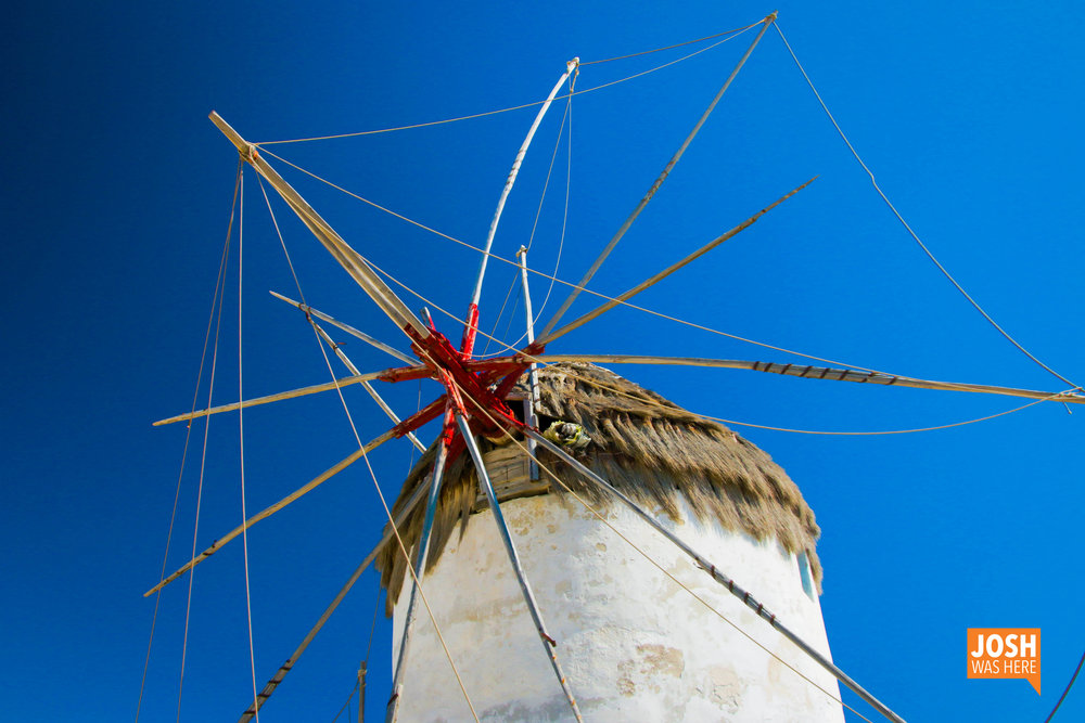 One of the 5 windmills of Mykonos