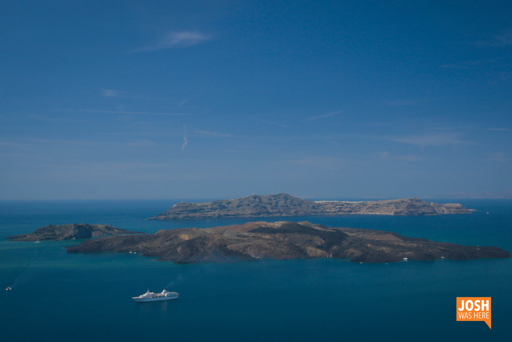 Caldera of Santorini