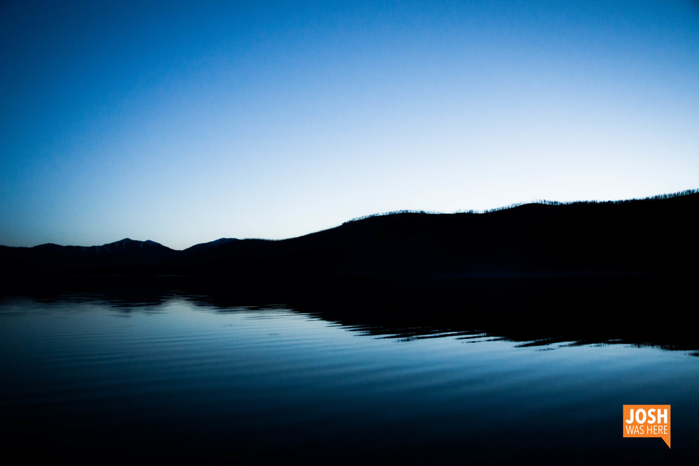 Sunset at Sprague Creek Campground
