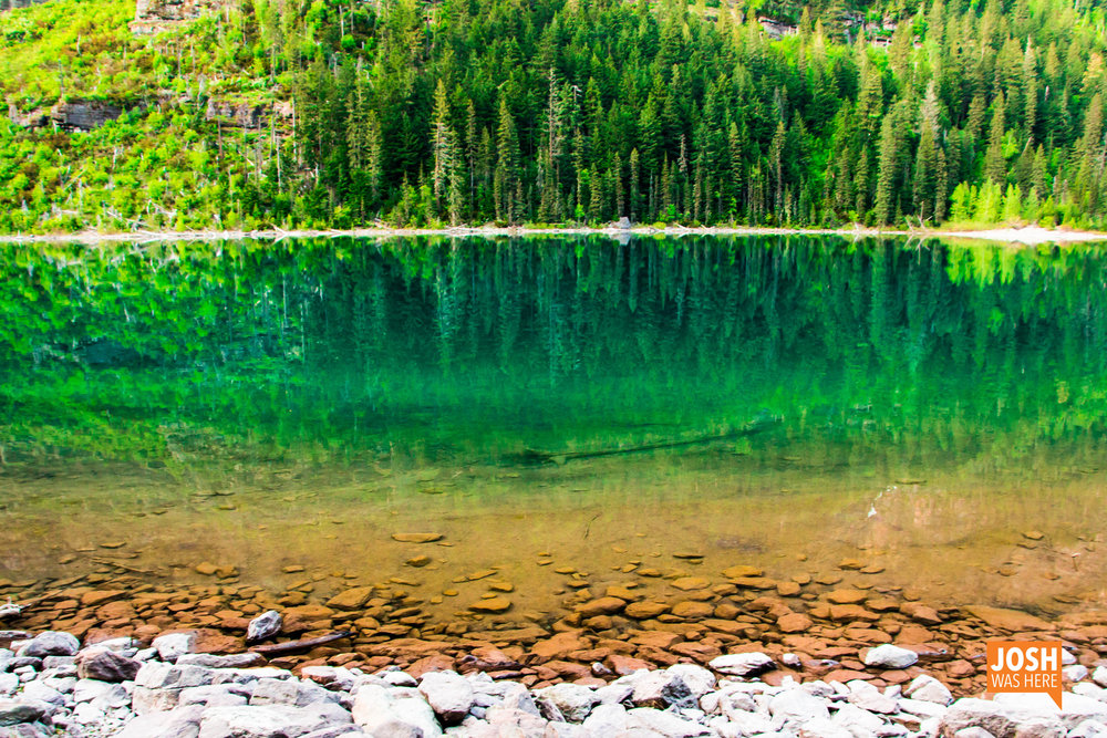 The colors of Avalanche Lake