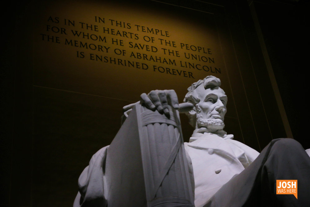 Lincoln Memorial epitaph