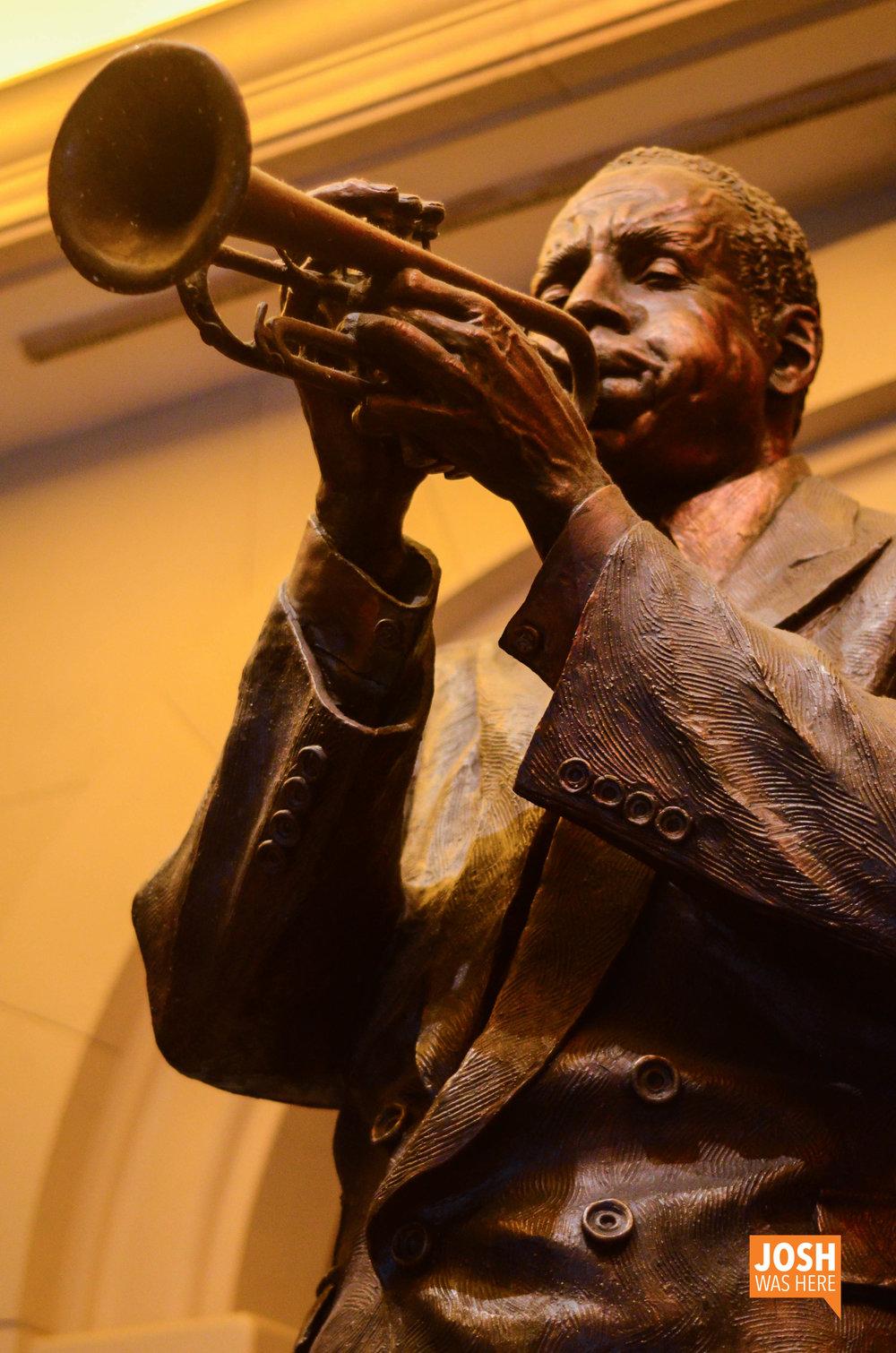 Louis Armstrong at Harrah's