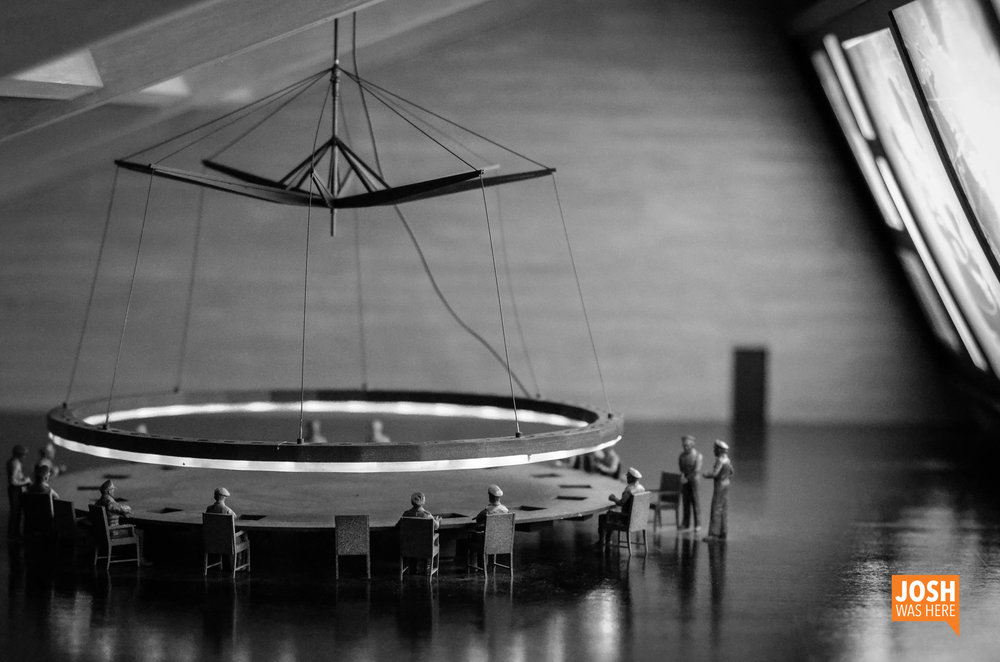 War Room model from Stanley Kubrick's  Dr. Strangelove or: How I Learned to Stop Worrying and Love the Bomb