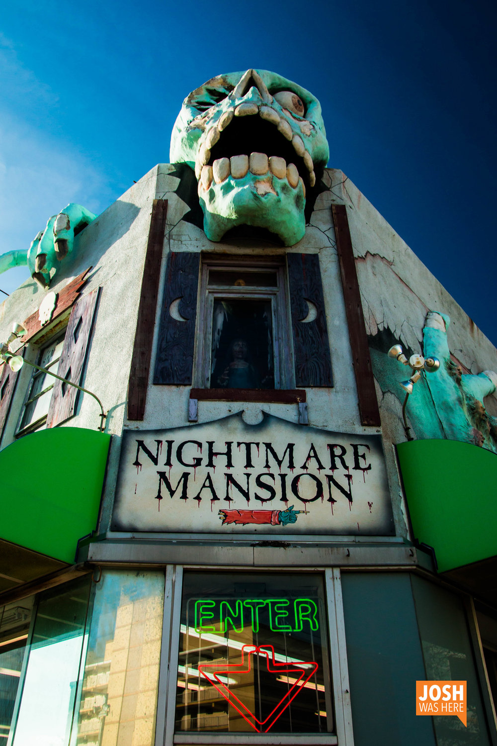 Enter Nightmare Mansion