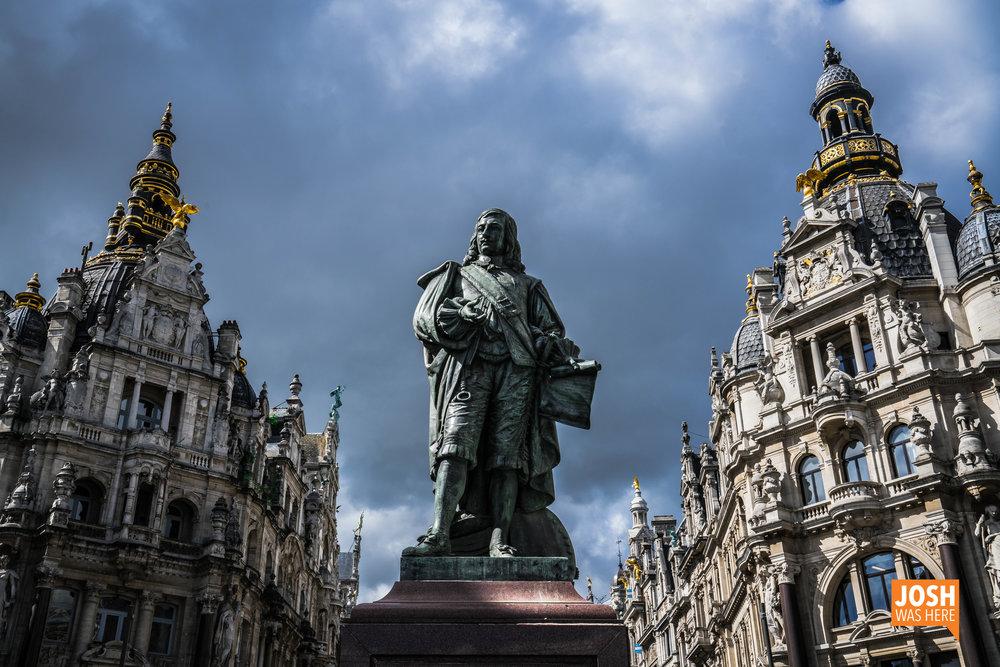 Statue David Teniers