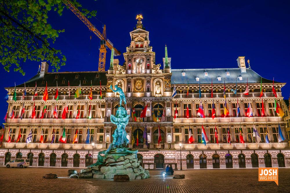 Antwerp City Hall / Stadhuis van Antwerpen