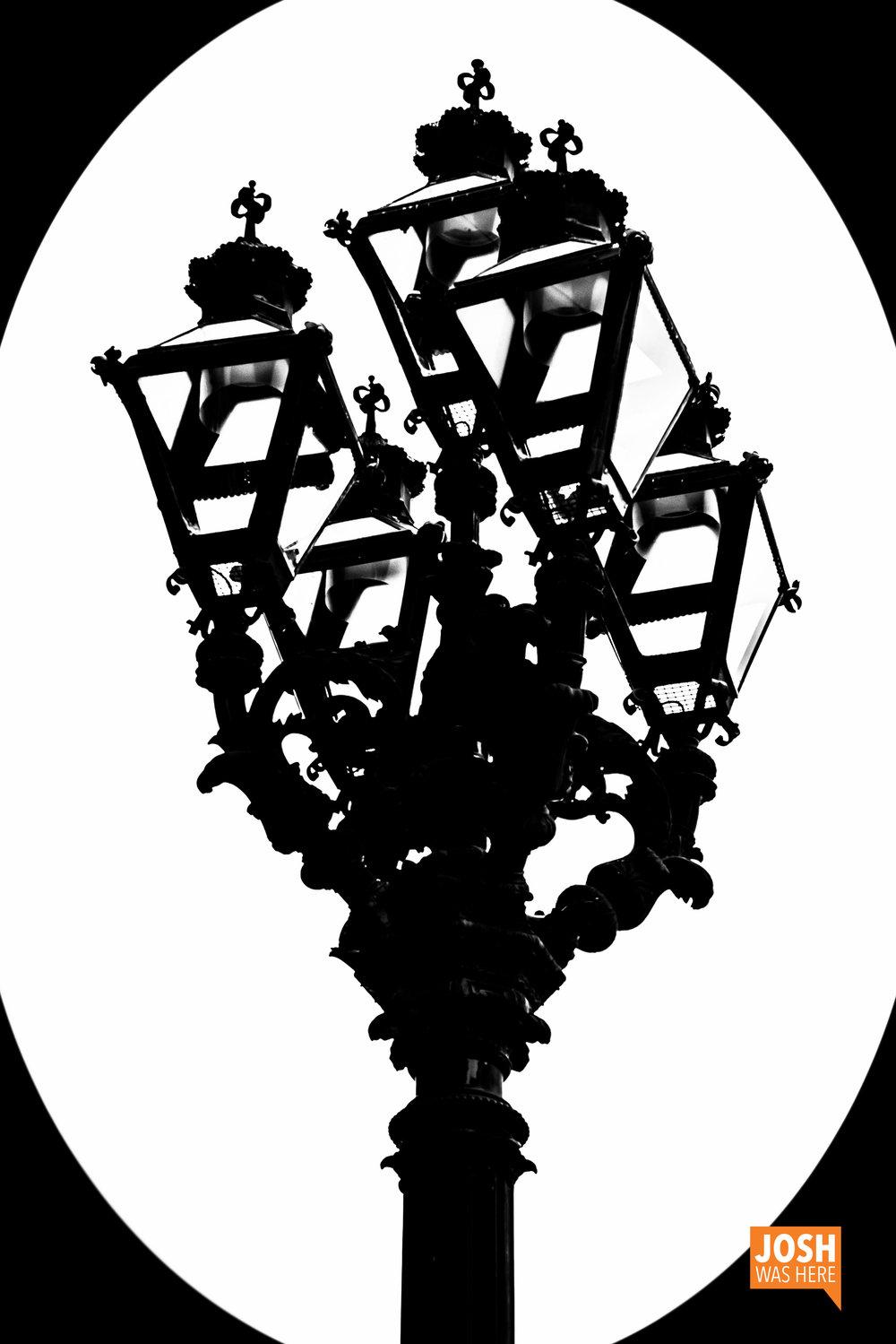 Lamp, at Rathaus