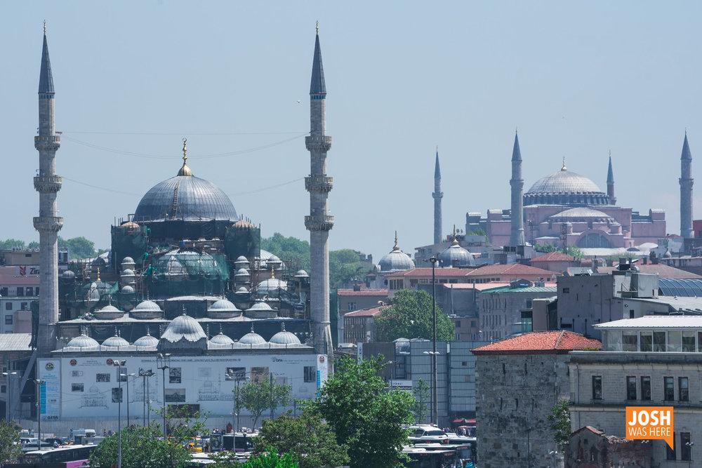 Rustem Pasha Mosque / Rüstem Paşa Cami & Hagia Sophia Museum / Ayasofya Müzesi
