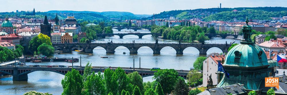 Vltava bridges