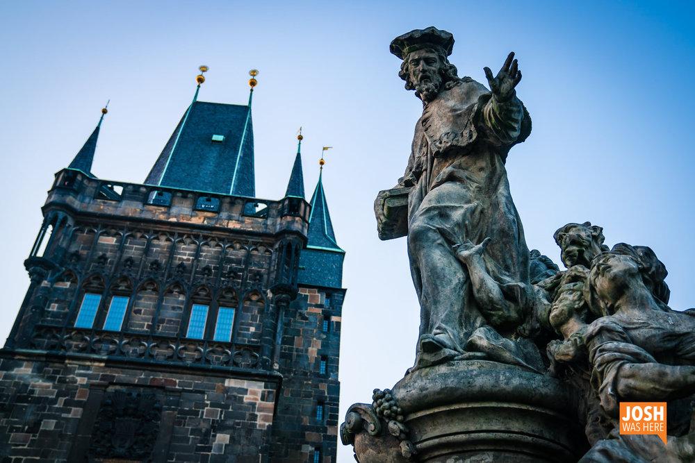Old Town Bridge Tower / Staroměstská mostecká věž & Ivo of Kermartin