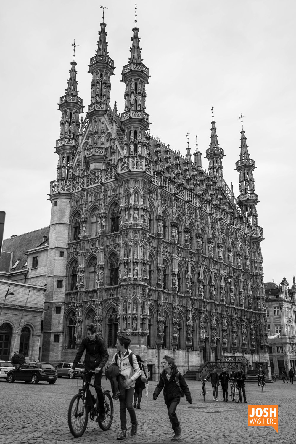Historical Leuven Town Hall / Historisch Stadhuis van Leuven