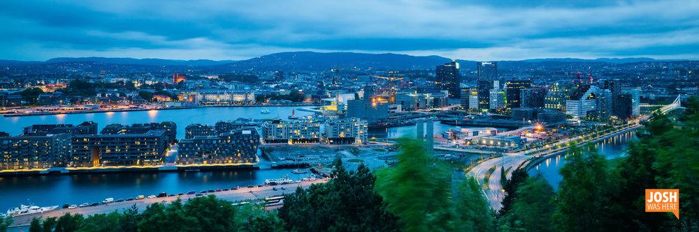 Oslo, from Ekebergparken