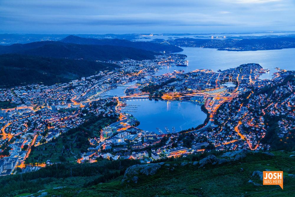 Bergen, from Ulriken