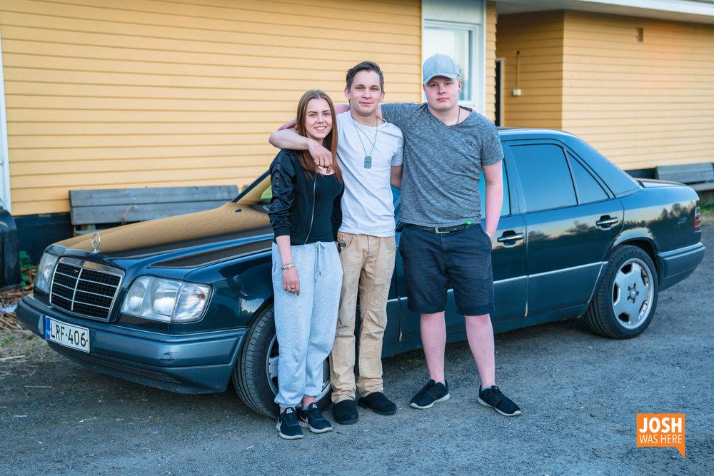 Mira, Markus, & Aaro; hosts