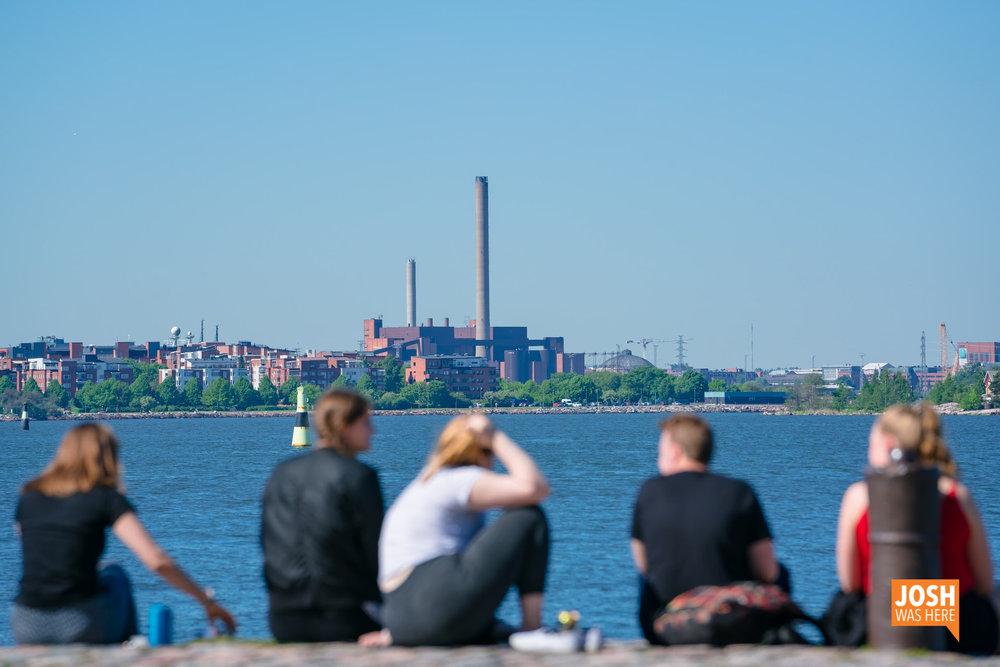 Suomenlinna päälaituri, ferry terminal