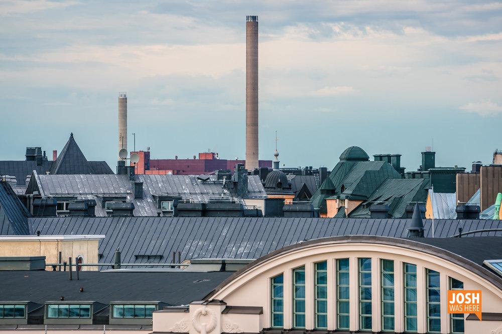 Rooftops & Hanasaaren B-voimalaitos / Hanasaari Power Plant
