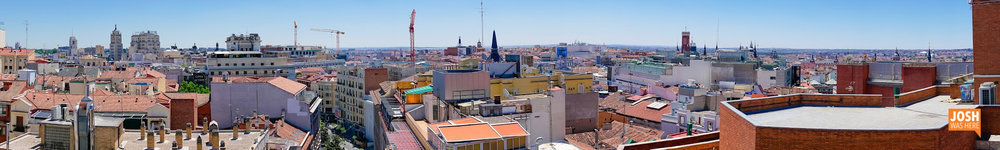 Terrace view, Madrid