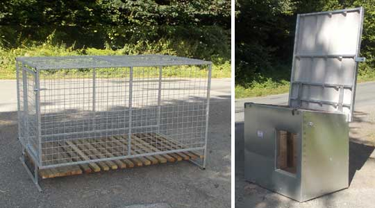 our outdoor new zealand style dog kennels and runs can be built to your bespoke design to suit large or small working dogs please contact us to discuss