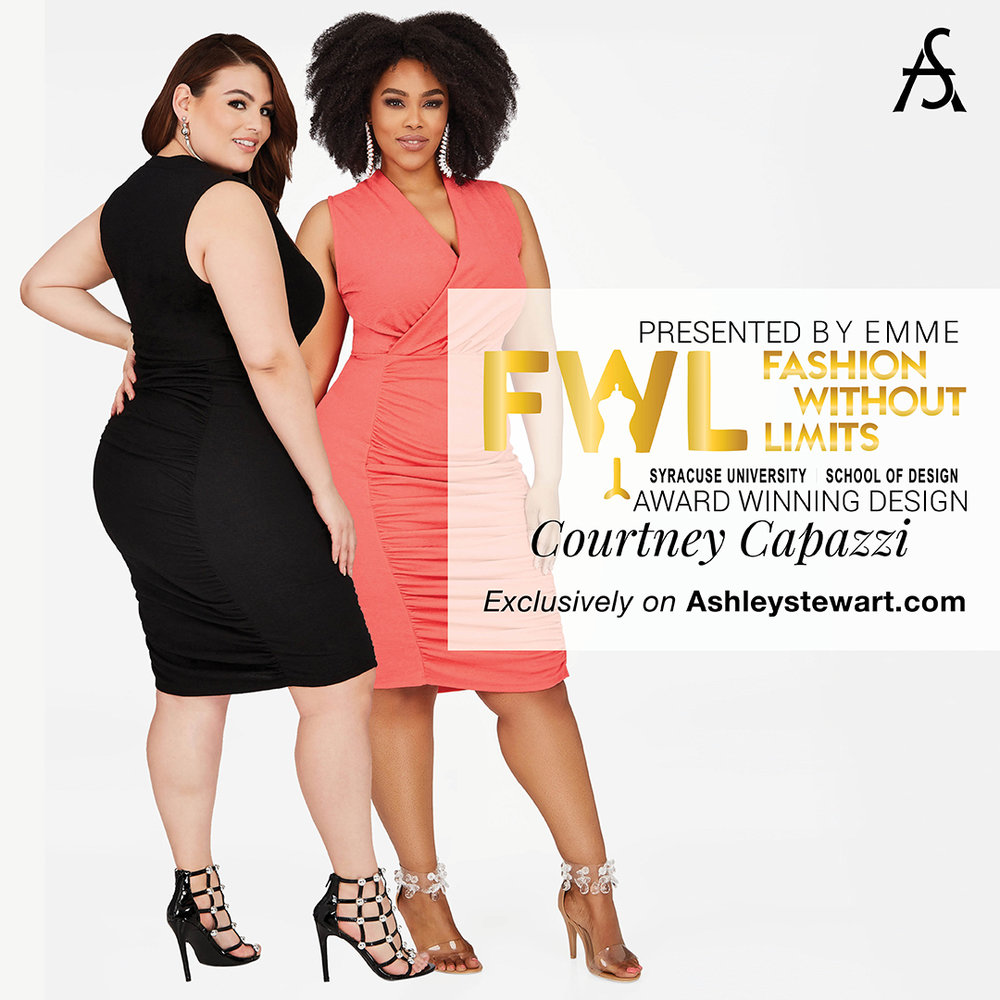 Designs: Courtney Capazzi '18 for  Ashley Stewart