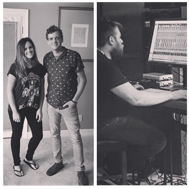 privileged to write a song with Mia Fieldes last week and learn a ton with mixer Sean Moffitt