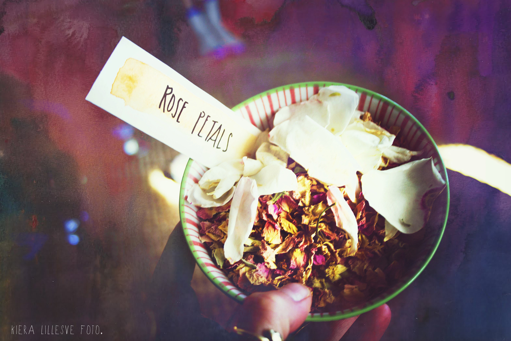 Rose Petal Offering Bowl- Photo by Kieralillesvefoto