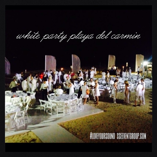 SCE Event Group - Playa De Carmin White Party