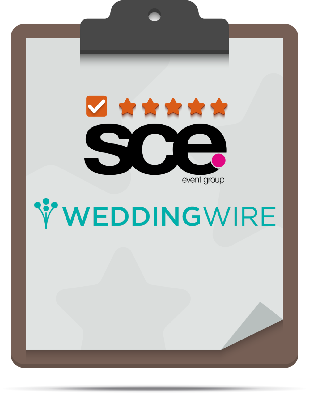 Please click here to review SCE on WeddingWire