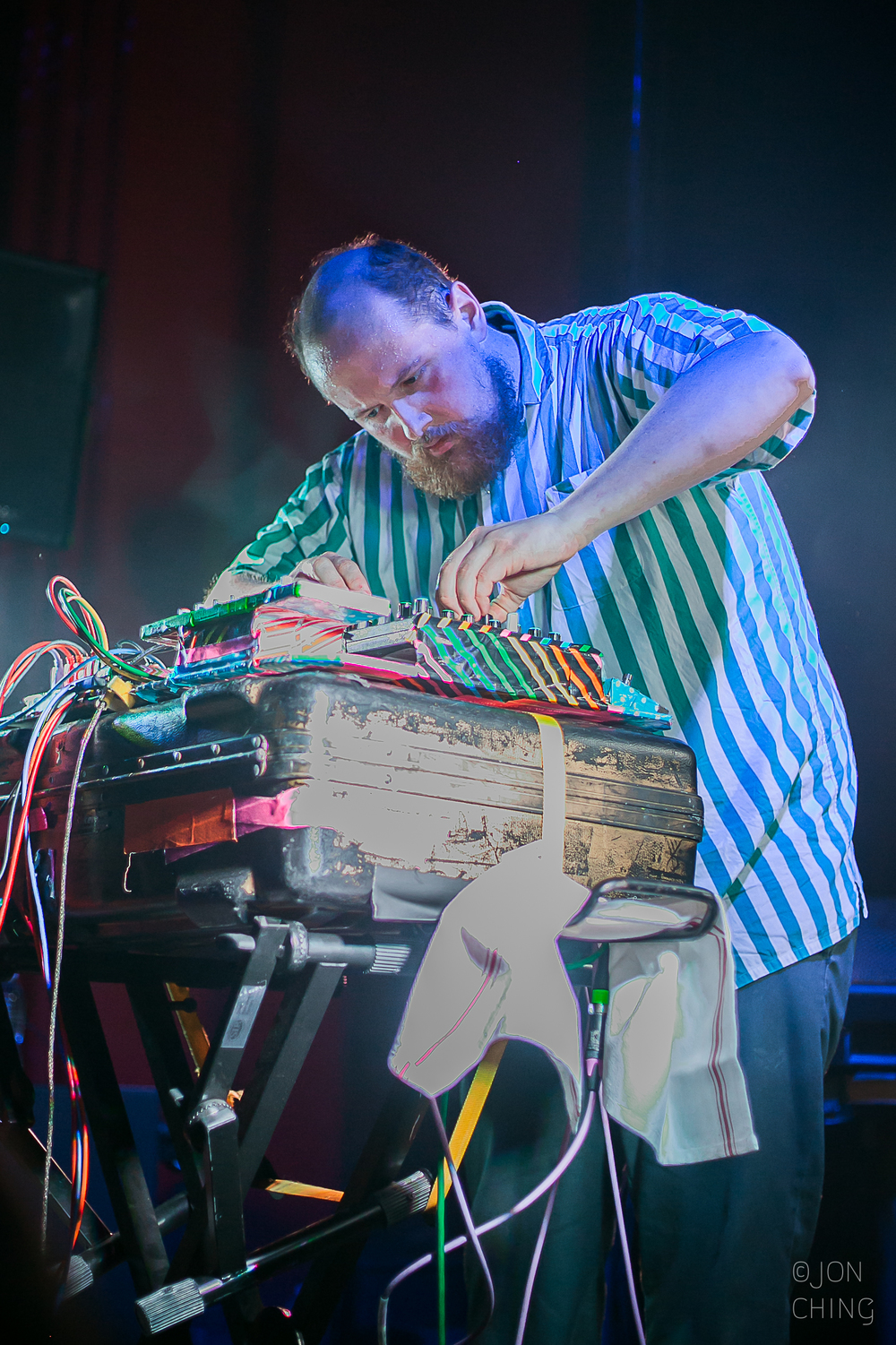 Dan Deacon, The Chapel, 2015