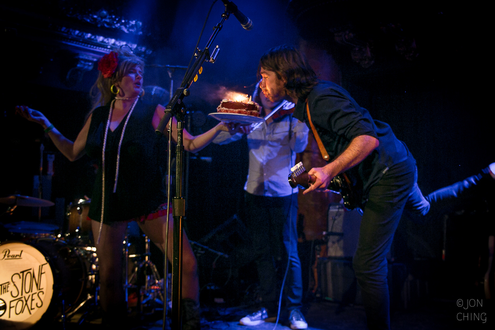 The Stone Foxes, Great American Music Hall, 2015