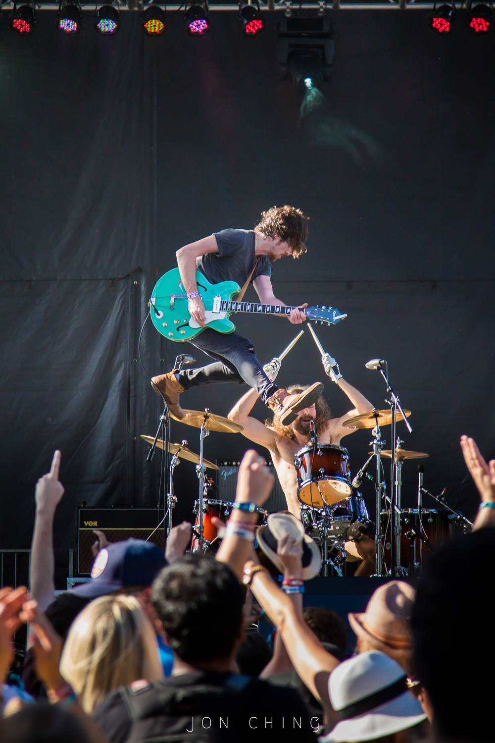 Black Pistol Fire, BottleRock Napa Valley, 2016