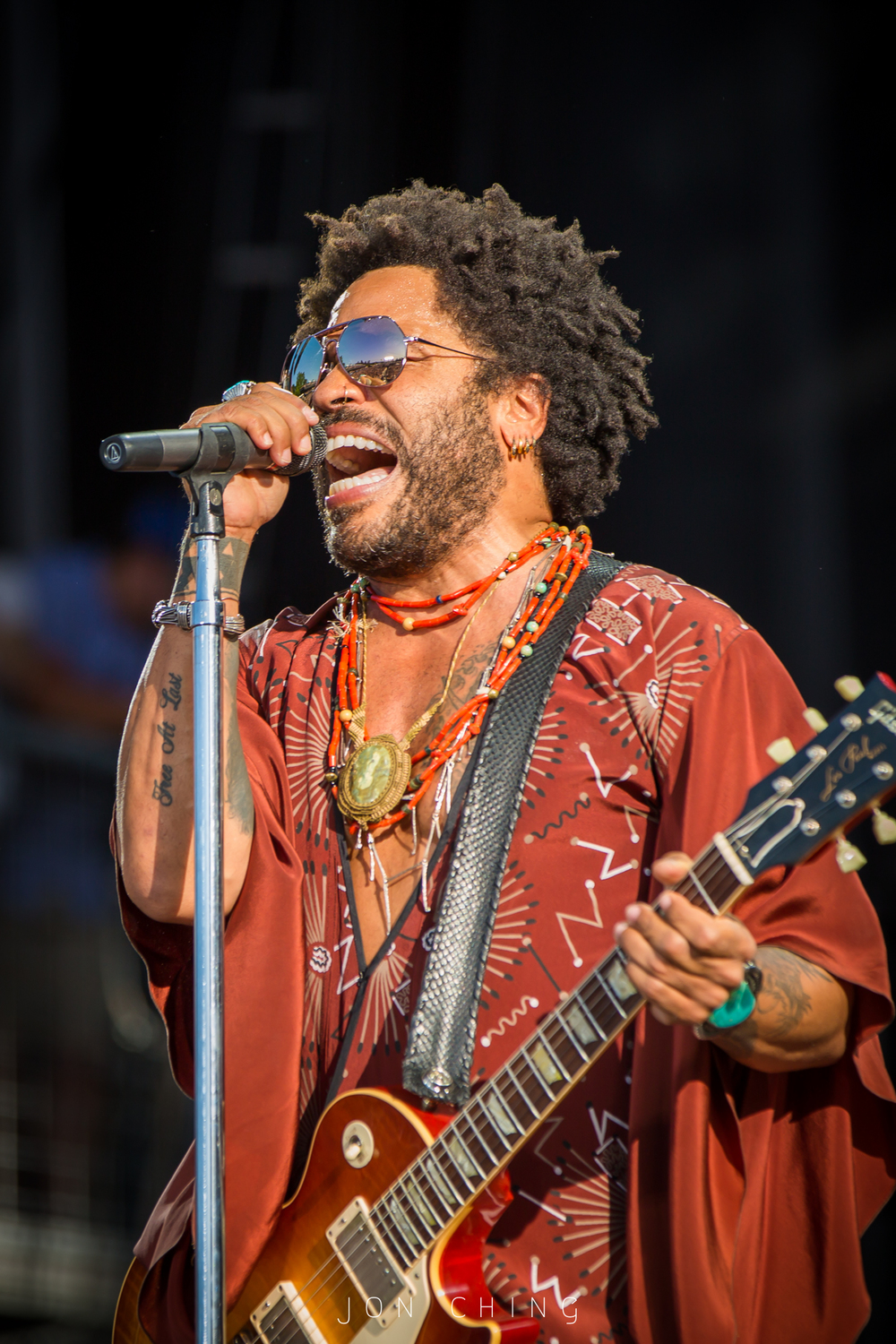 Lenny Kravitz, BottleRock Napa Valley, 2016