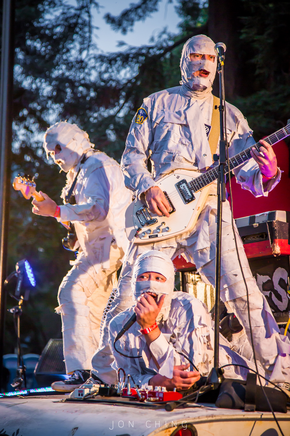 The Mummies, Burger Boogaloo, Oakland, CA  2016