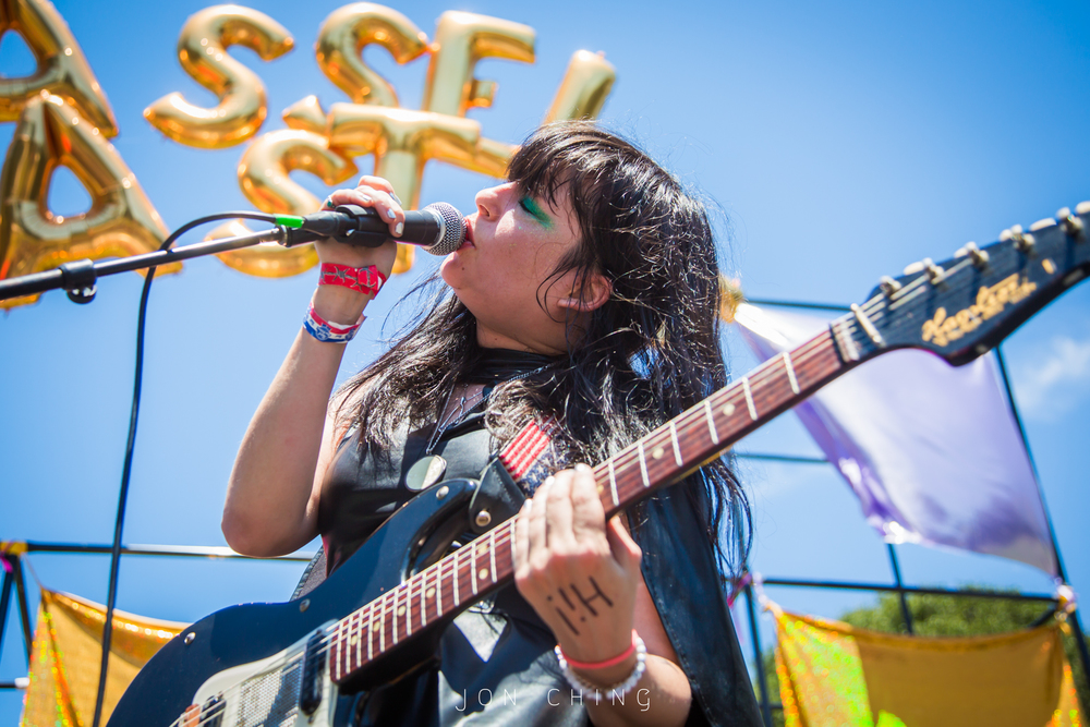 Death Valley Girls, Burger Boogaloo, Oakland, CA  2016