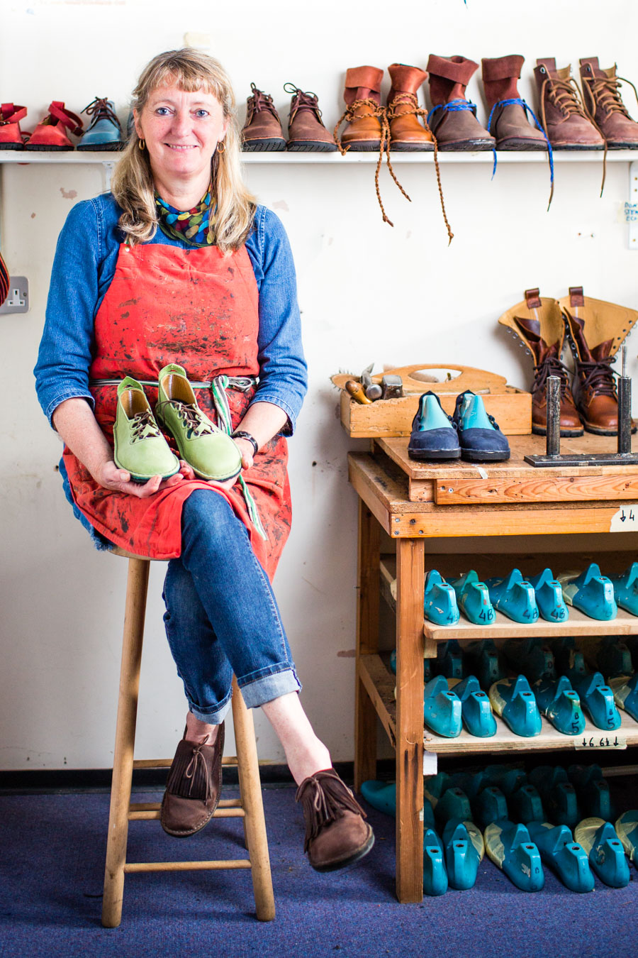 "ALISON HASTIE - ETHICAL SHOEMAKER   The following is placeholder text known as ""lorem ipsum,"" which is scrambled Latin used by designers to mimic real copy. Sed a ligula quis sapien lacinia egestas. Nulla eu pretium massa. Suspendisse nec congue purus. In sit amet felis malesuada, feugiat purus eget, varius mi. Nullam sit amet nisi condimentum erat iaculis auctor."