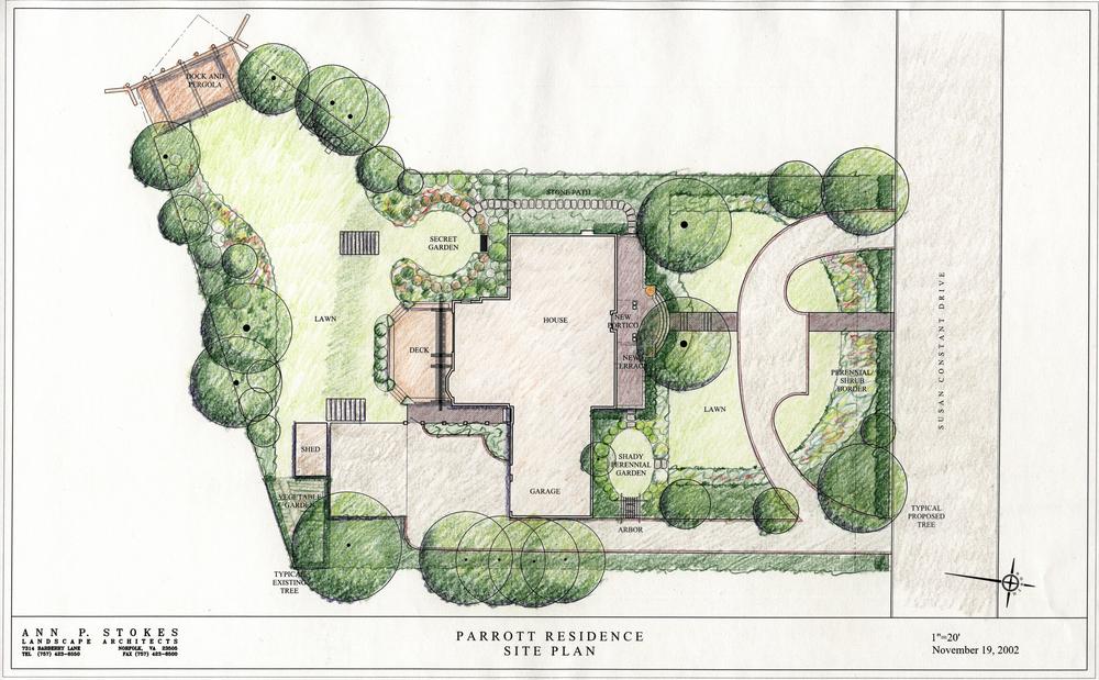 A Residential Garden Design