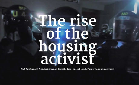 An immersive interactive investigation into the rise of housing activism in response to estate regeneration plans