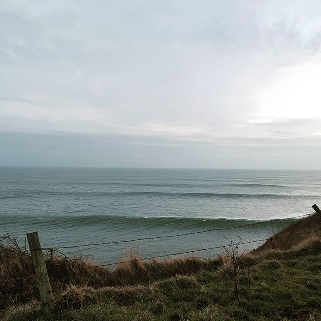 Thick lines coming through on the Purbeck headland