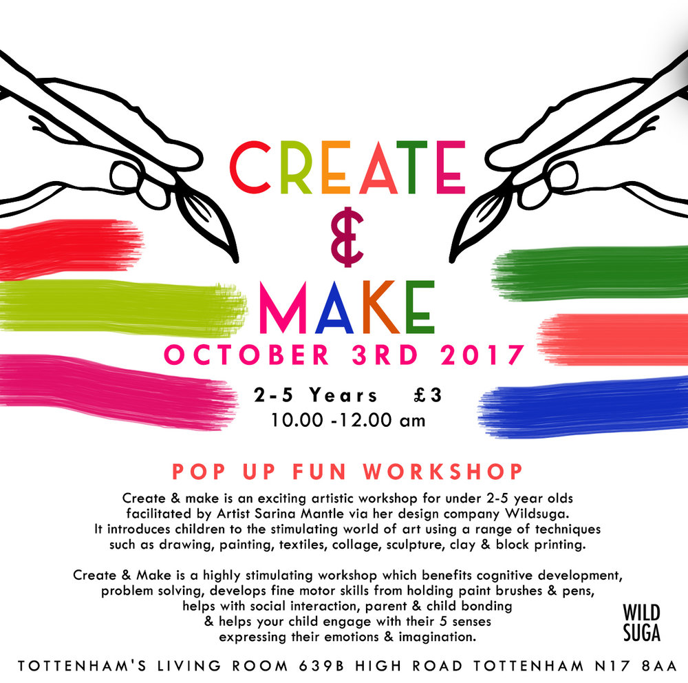 create & Make poster tottenham.jpg