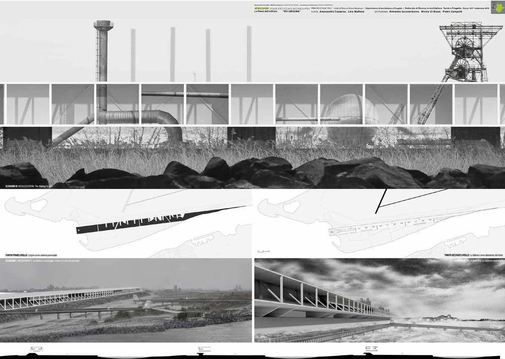 Progetto RiMargina foce del Tevere a Roma