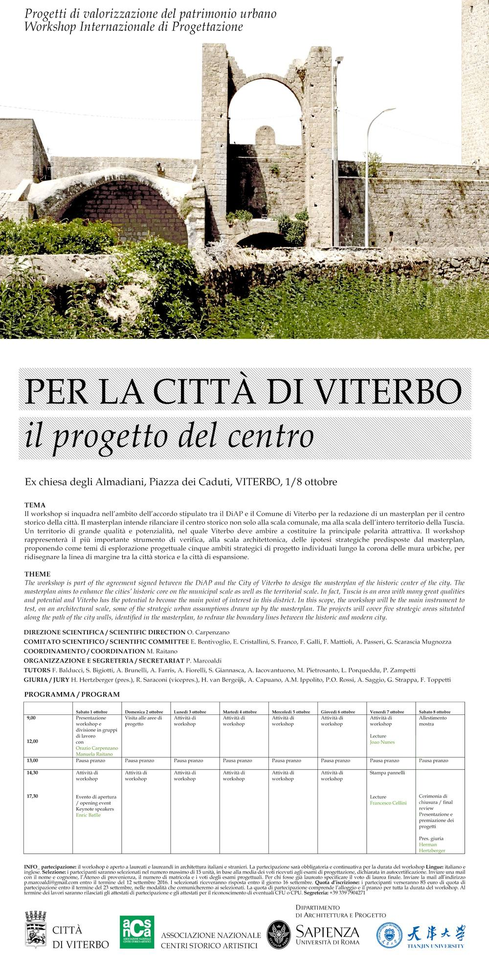 workshop viterbo iacovantuono locandina