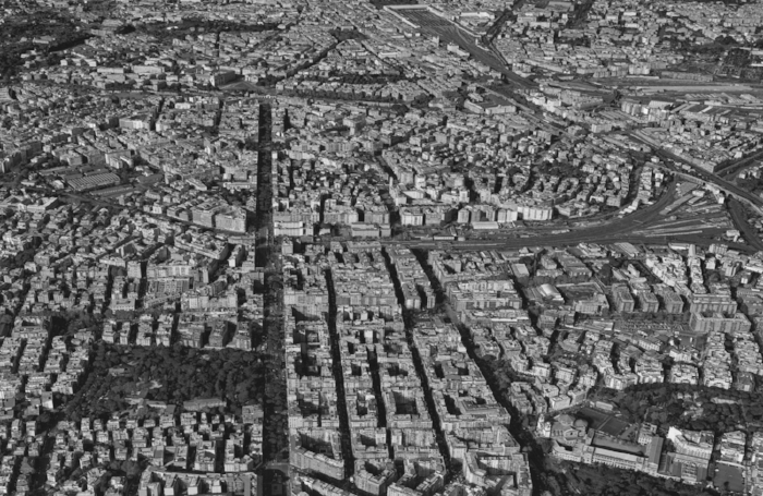 Rome density compact city