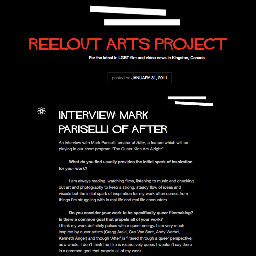 Interview // Reelout