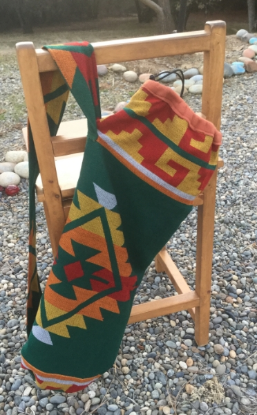 Green Saddle Blanket Print