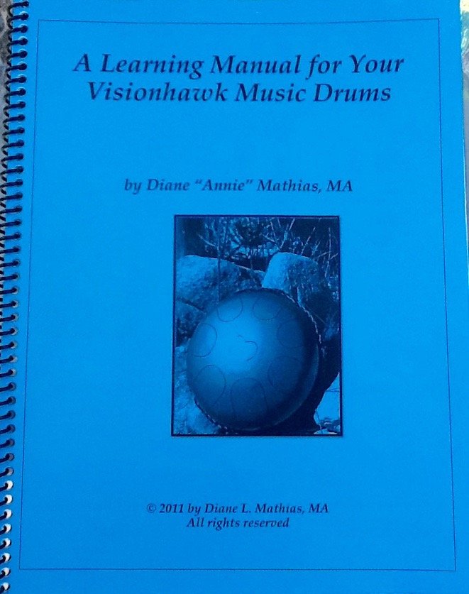 Learn to play steel tongue drums book