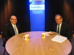 Maine Secretary of State Matt Dunlap with host Harold Pachios: Pachios on the News, April 2018