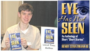 16-Year-Old Henry Stratmann III Signs Books at ORA on June 2, 2007