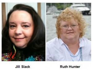Ozarks Romance Authors president Jill Slack and vice president Ruth Hunter will speak to Springfield Writers' Guild on Saturday, April 23, 2011.