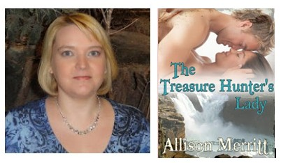 Novelist Allison Merritt and The Treasure Hunter's Lady